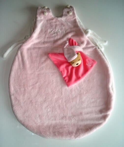 Baby Schlafsack Plume rosa 70 cm, Kaloo