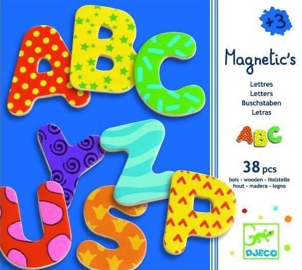 Magnetics Magnete Buchstaben, Djeco