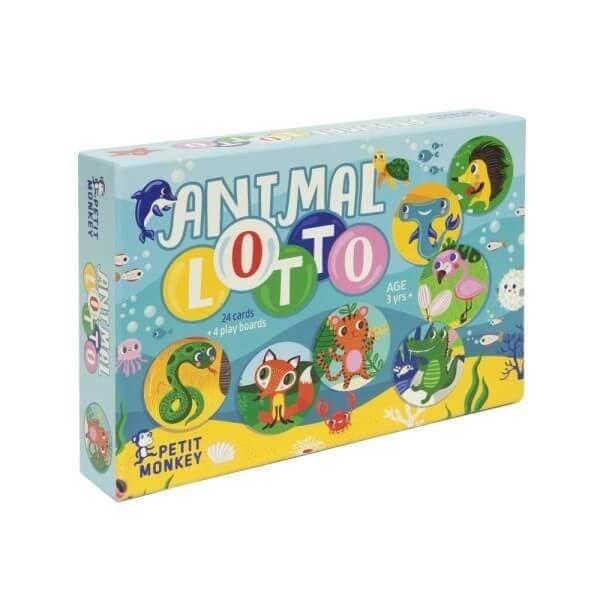 Spiel Lotto Tiere, Petit Monkey