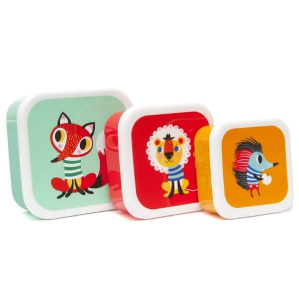 Brotdosen-Set Tiere, Petit Monkey