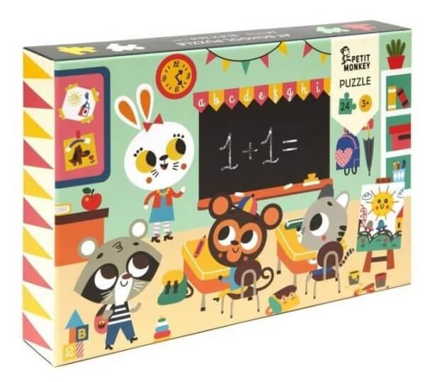 Puzzle In der Schule, Petit Monkey