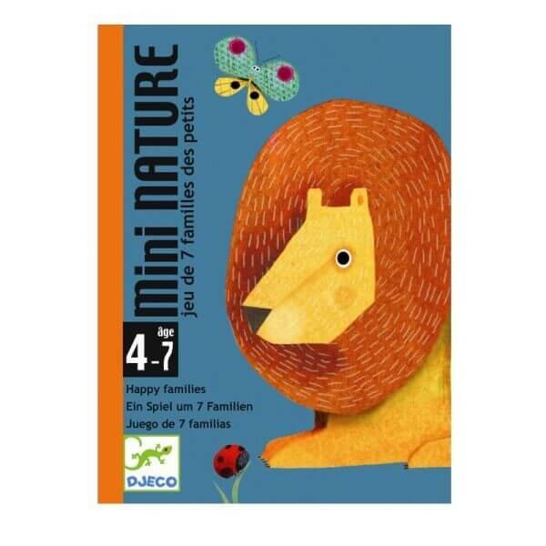 Kartenspiel Quartett Mini Nature, Djeco