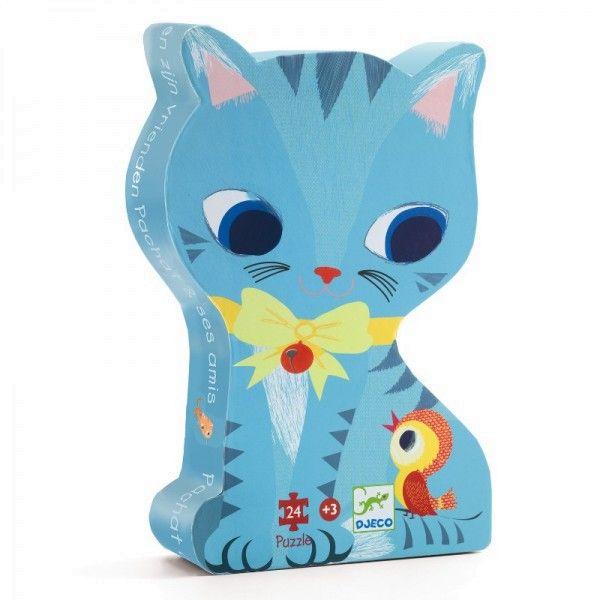 Puzzles Katze Pachat und Freunde, Djeco