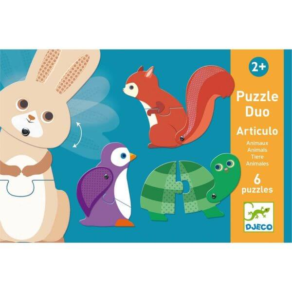 Djeco Duo-Puzzle Articulo Tiere_DJ08175