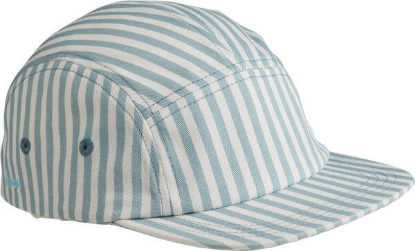 Liewood Kappe Blau-Weiß gestreift_LW12841-0936