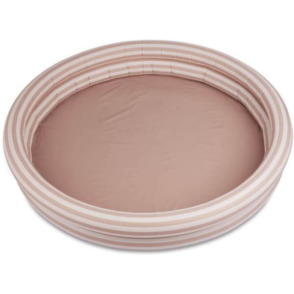 Liewood Planschbecken rosa/ weiß gestreift 150 x 25 cm_LW14165-0906