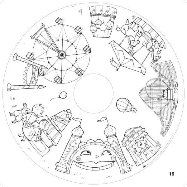 "Drawin' Kids Nachfüllpackung 20 Blätter ""Fun Activities""_DKfunactivities"