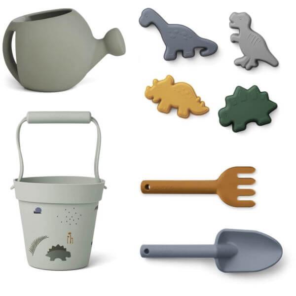 Liewood Garten- und Strandspielzeug Set Dino_LW13097-7115