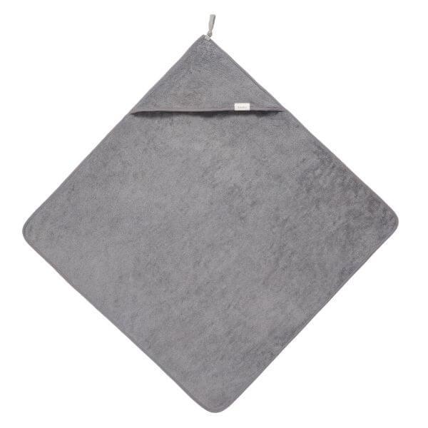 Koeka Badecape Dijon Organic Steel Grey_KOE1016-1001-615