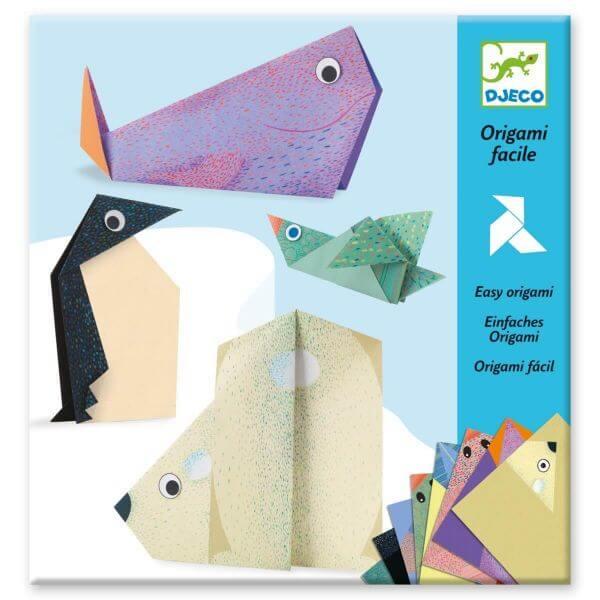 Djeco Bastelset Origami Tiere der Arktis_DJ08777