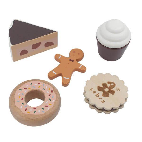 Sebra Kuchen und Kekse aus Holz_SEB301730022