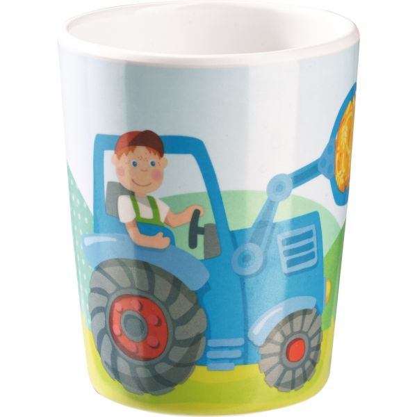 HABA Becher Traktor Melamin