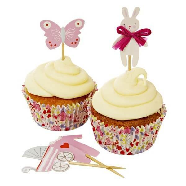 Meri Meri Baby Muffin Kit rosa