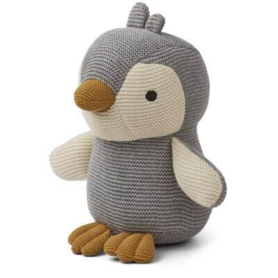 Liewood Kuscheltier Pinguin Pearl Grau_LW13020-1009