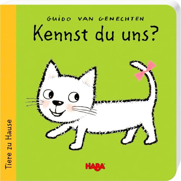 HABA Pappbilderbuch Kennst du uns? Tiere Zuhause
