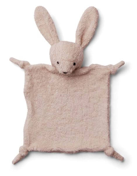 Liewood Schmusetuch Hase Lotte Rosa_LW12869-0037