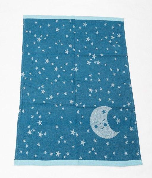 David Fussenegger Babydecke IDA Mond atlantik 70x90 cm