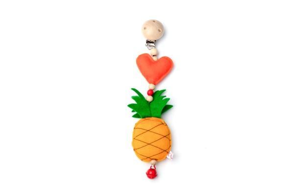 Deine Sommerliebe Anhänger Ananas