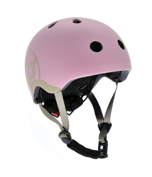 Scoot and Ride Fahrradhelm Kinder XXS-S Rose