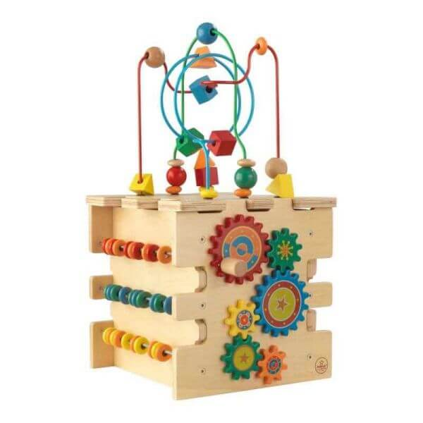 KidKraft Aktivitätswürfel Deluxe aus Holz