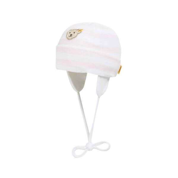 Steiff Mütze Gr: 45 in rosa