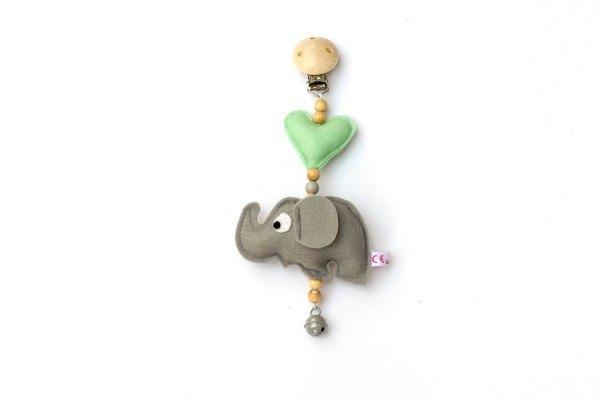 Deine Sommerliebe Anhänger Elefant in 6 Farben