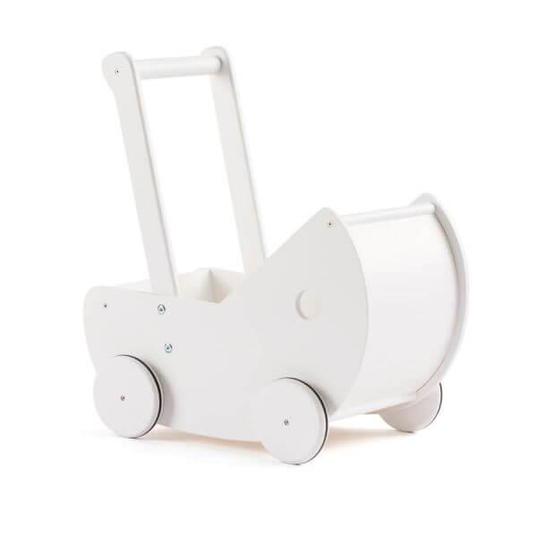 Kid's Concept Puppenwagen mit Bettwäsche Weiß