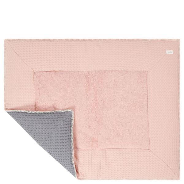 Koeka Krabbeldecke Amsterdam Shadow Pink/Steel Grey 80 x 100 cm_KOE-1015-42-005-415-615
