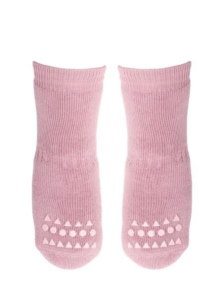 GoBabyGo Rutschfeste Socken Rosa vorne