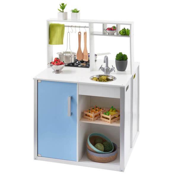 MUSTERKIND® Kinderküche Nelumbo Weiß / Bunt
