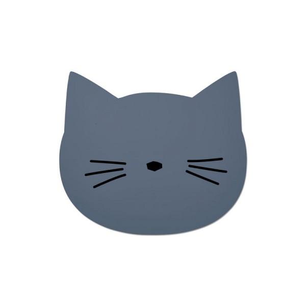 Liewood Platzset Katze Blau