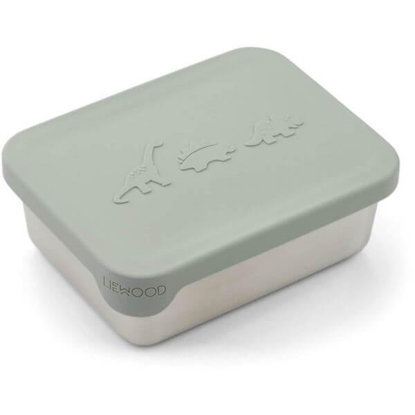 Liewood Snackbox DIno Mint_LW14193-7120