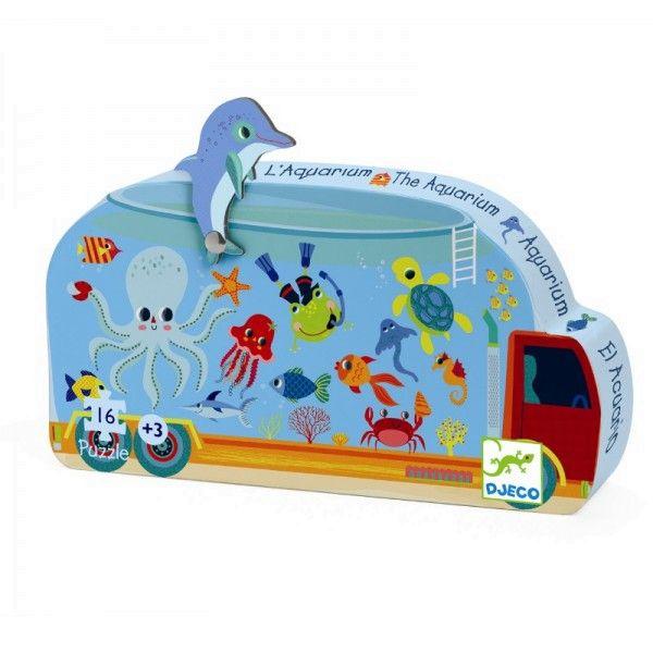 Djeco Puzzle Aquarium