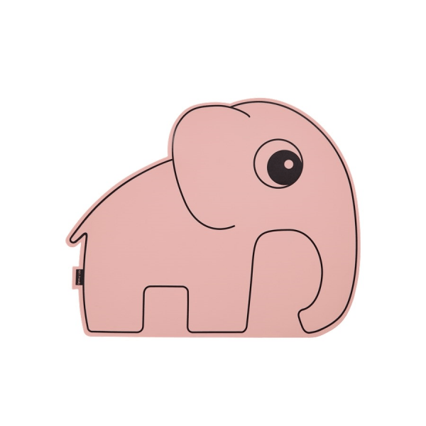 Done by Deer Platzmatte Elefant Rosa