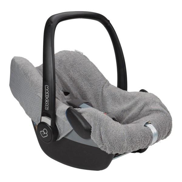 Koeka Babyschalenbezug Stockholm Steel Grey