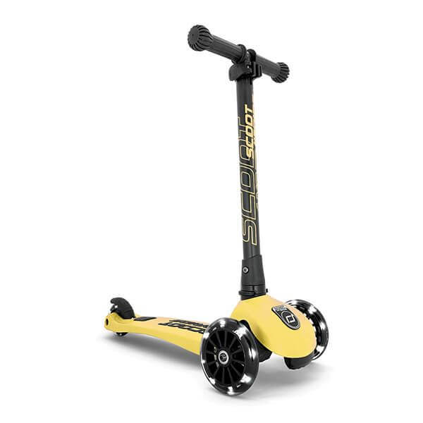 Scoot and Ride Roller Highwaykick 3 LED Lemon