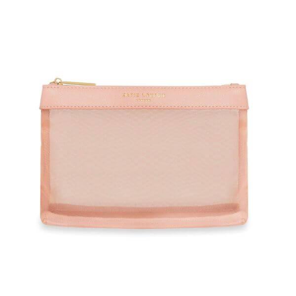 "Katie Loxton Make-Up Tasche ""Millie Gauze"" Rosa 21,5x16x6,5cm"