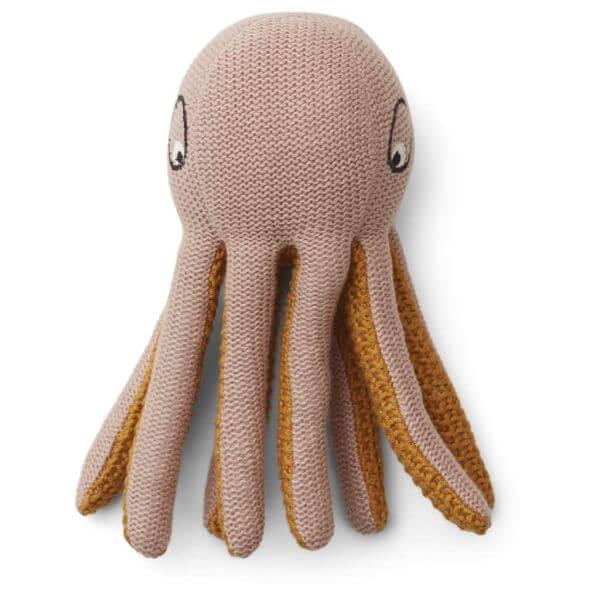 Liewood Rassel Ole knit Octopus Rose