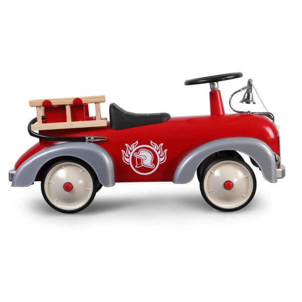 Baghera Rutschauto Speedster Feuerwehr rot_BAG838