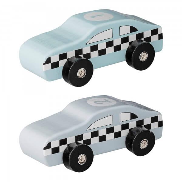 Bloomingville Autos mint/grau Spielautos
