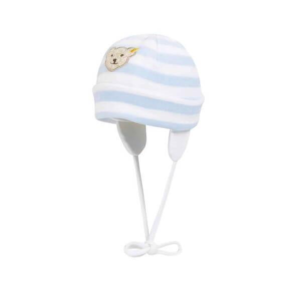 Steiff Mütze Gr: 43 in blau