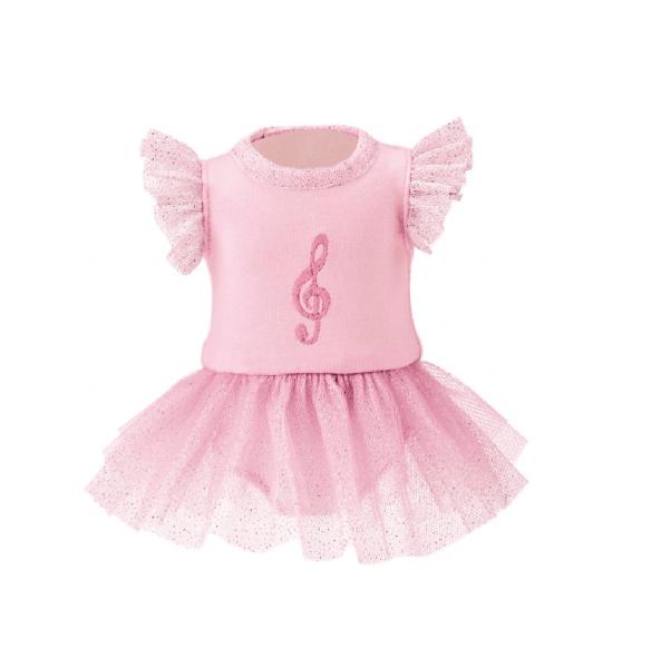 Käthe Kruse Ballerina Kleid für Puppen Rosa 30-33 cm