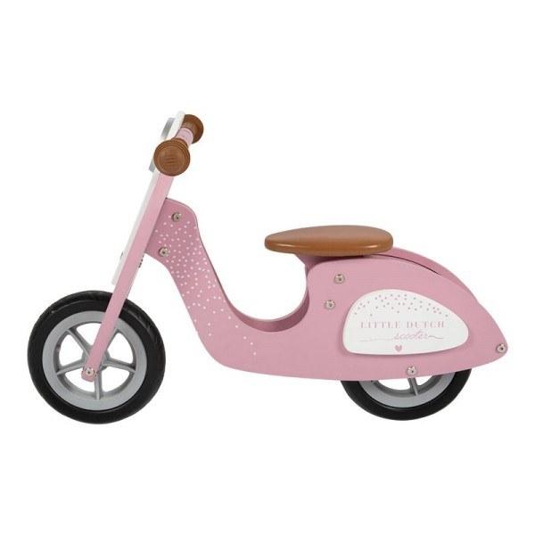 Little Dutch Laufrad aus Holz Rosa
