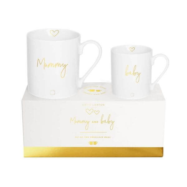 "Katie Loxton Tassen-Set ""Mummy and Baby"""