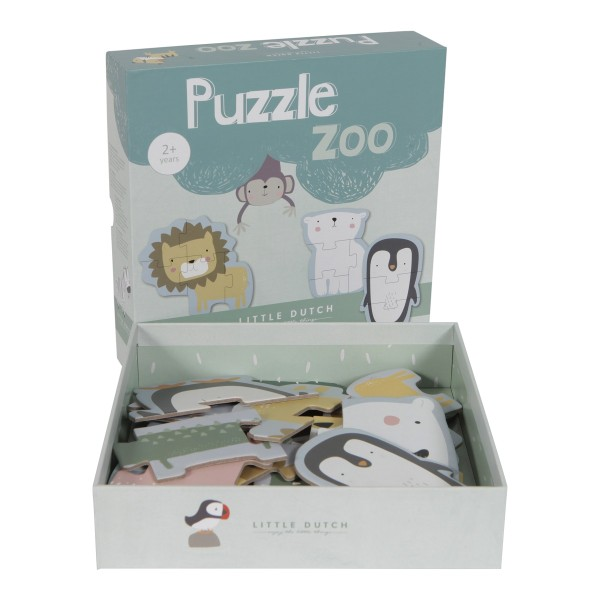 Little Dutch Puzzle Zootiere