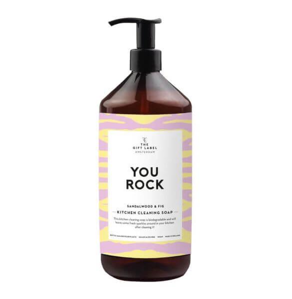 "The Gift Label Geschirrspülmittel ""You Rock"""