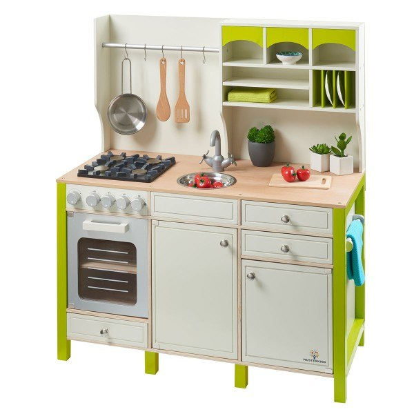 MUSTERKIND® Spielküche Salvia Creme/Grün