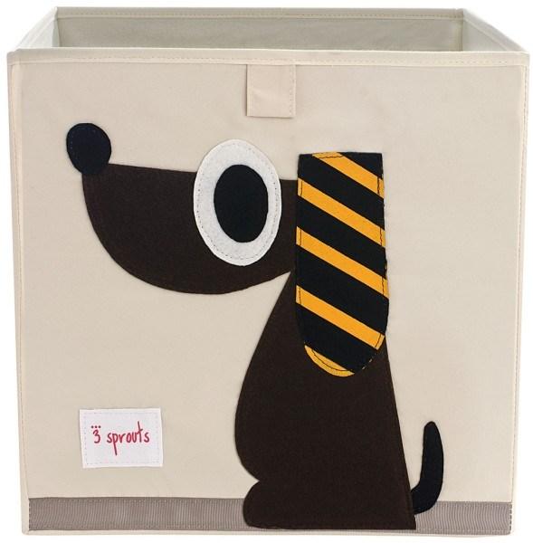 3 Sprouts Aufbewahrungsbox Hund