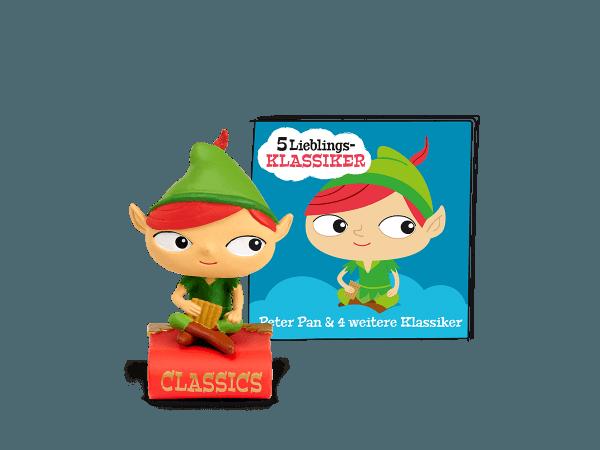 Tonies Hörfigur - Peter Pan und 4 weitere Klassiker