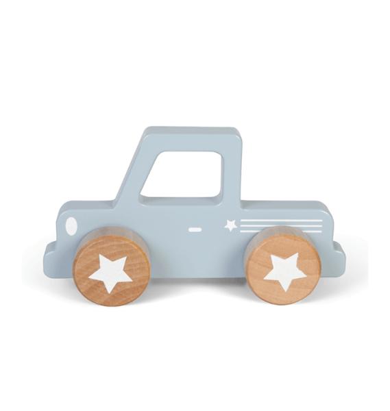 Little Dutch Pickup Truck aus Holz Hellblau